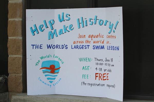 World's Largest Swim Lesson 061815