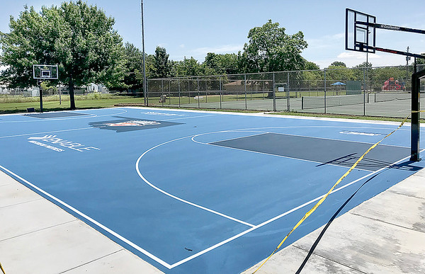KEVIN HARVISON |<br /> The opening ceremony for the new Thunder Court located at Chadick Park is scheduled for Wednesday at noon.