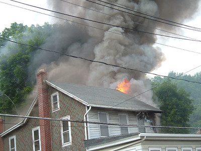 CRESSONA STRUCTURE FIRE 6-26-08 Pictures by J C Kriesher