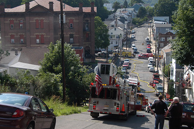 POTTSVILLE CITY STRUCTURE FIRE 6-29-2009 PICTURES AND VIDEOS BY COALREGIONFIRE