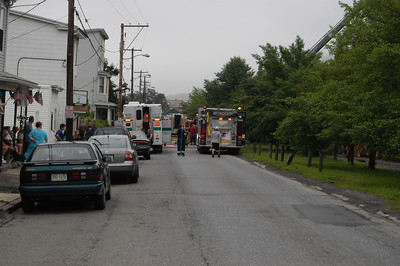 TAMAQUA STRUCTURE FIRE 6-11-2009  PICTURES AND VIDEOS BY COALREGIONFIRE