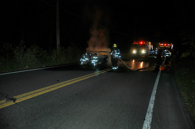 MAHANOY TOWNSHIP POTTSY HILL VEHICLE FIRE 6-30-2010 PICTURES AND VIDEO BY COALREGIONFIRE