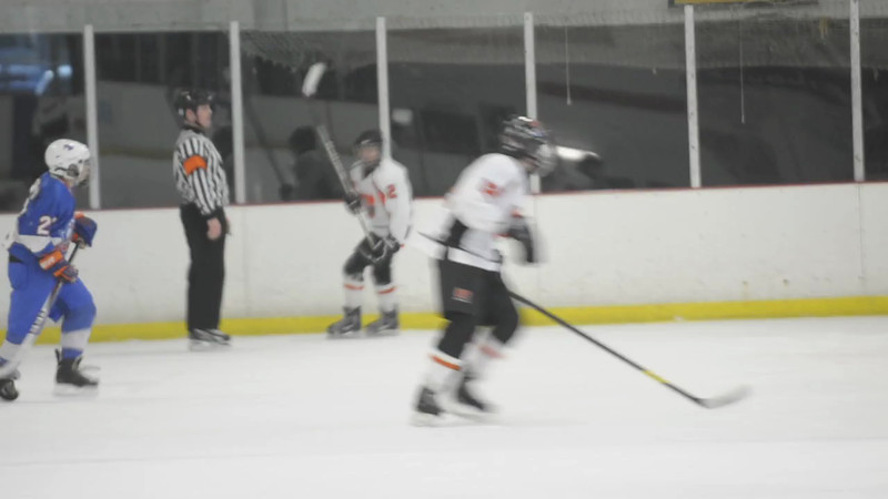 Brenden Miller shoots empty netter to ice the game