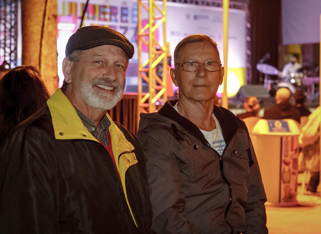 Carlos Maria Hennricks e Augusto Côrrea Borges