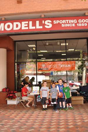 JUST TRYAN IT Kids Triathlon 6-17-2012 Pre Race