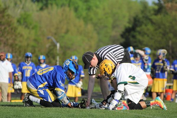 JV boys Lacrosse vs. Gaithersburg HS 4-26-2017