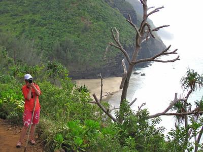 Kalalau Trail, Napali Coast, Kauai, Hawaii