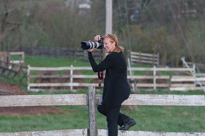 This is where I needed to be for the shot I wanted - Dave & Joanne's wedding, Blue Hound Farm, Lewisberry, Pa.