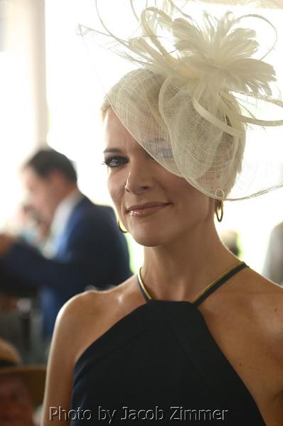 Fox News Host Megan Kelly at Churchill Downs on Derby Day. May 7, 2016.