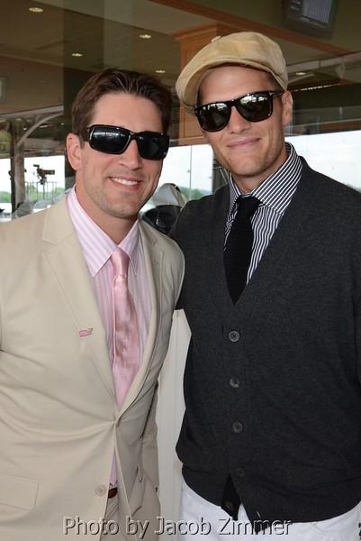 Aaron Rogers and Tom Brady.