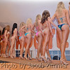Contestants pose for the judges in the regional bikini contest at the Dupont Hooters with women from KY, IN, TN and OH for a chance to travel to Las Vegas for the national competition. Friday May 30, 2014.