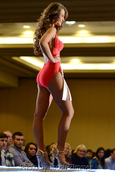 Miss Ohio County Fair Sydnee Daugherty competes in the 2015 Miss Kentucky County Fair Pageant at the Galt House Saturday night. January 17, 2015.