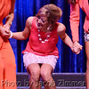 Ashley Ferry can barely stand after being named in the top five finalists for the 2014 Miss KY Pageant at the Singletary Center for the Arts in Lexington Saturday night. June 12, 2014.