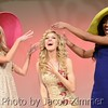 "Contestants act out a crowning during the ""Derby Fashion Show"" segment at the 2015 Miss Kentucky USA Pageant at the Ursuline Arts Center Sunday night. January 11, 2015."