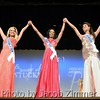 Contestants during the evening gown division at the 2015 Miss Kentucky USA Pageant at the Ursuline Arts Center Sunday night. January 11, 2015.