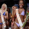 First Runner-up Shelby Pierce, left, and Courtney Blakely was crowned Miss Hooters 2014 in the Hooter's Bikini Contest at the Jeffersonville, IN riverfront restaurant Friday night. May 17, 2014.