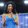 Jessica Wallace is announced as the Winner of the 2014 Miss Auto Show Pageant at the Carl Casper Custom Auto Show in the North Wing of the Kentucky Exposition Center on Sunday. February 23, 2014.