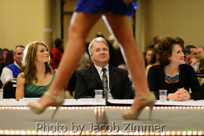 Judges at the 2013 Miss Kentucky County Fair Pageant.
