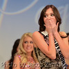 Megan Ducharm reacts to the announcement that she will be crowned Miss KY Teen USA 2014 at the Miss KY USA Pageant at the Ursuline Arts Center in Louisville on Sunday. January 12, 2014.