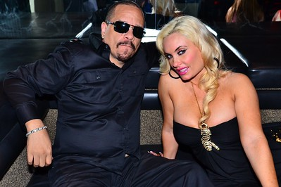 Ice-T and Coco at Mosiac Lounge in Louisville, KY on Derby Eve, May 5, 2012.