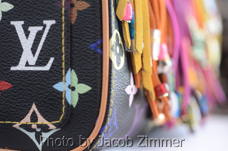 Louis Vuitton's New York office hired Zimmer to shoot products at a showing in Louisville.