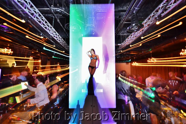 Opening night of Mosaic Nightclub on Fourth St. Live! 2012.