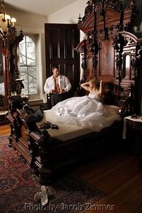 Wedding night at the Brennan House.