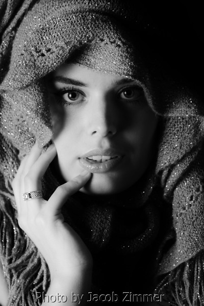 Studio Portrait. Danielle from Holland.