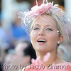 Scene of a racing fan singing along to My Old Kentucky Home at Churchill Downs on Derby Day, Saturday May 3, 2014.