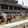 Super Saver saddled by Calvin Borel wins the 2010 Kentucky Derby. May 1, 2010.