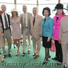 Center: KY State Senator David Williams, US Senator Mitch McConnell, wife Elaine Chao, the former Secretary of Labor in the Gold Room on Derby Day. May 7, 2011.