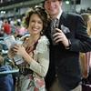 Elizabeth Samuels and Trevor Johnson at Downs After Dark. April 30, 2011.