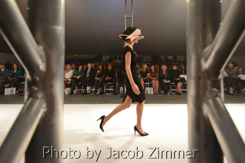 Scenes from Saturday Night at Waterfront Fashion Week.