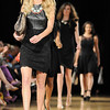 Models walk the runway for the LUXE Fashion Experience at the Ice House Thursday night. October 3, 2013.