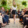 Model Anna Dearen on the runway at the Anchal Urban Renewal Fashion Show at the Peterson-Dumesnil House Wednesday evening. October 17, 2013.
