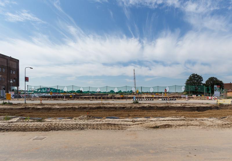 De haven gezien vanuit de Parkstraat