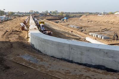 Mooi strak gegoten beton
