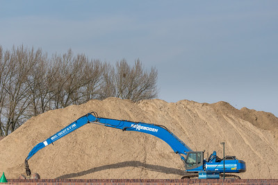 Machine vs bult zand