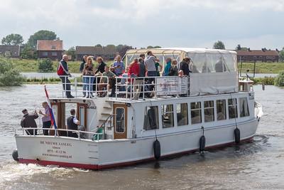 """""""De Nieuwe Aanleg"""" maakt tochtjes over de IJssel"""