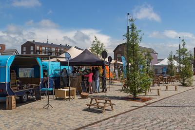 Kraampjes aan de Coenensparkstraat