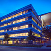 The Domain Office Building Night View