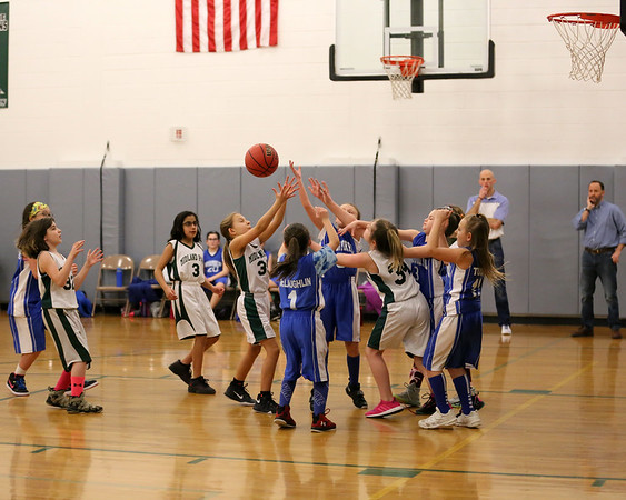 1-28-18 4th Grade Girls Lightning vs. Midland Park