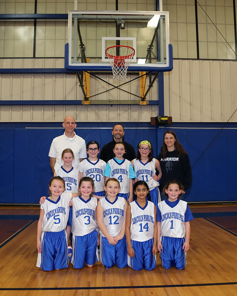 2-16-18 4th Grade Girls Lightning vs. Midland Park