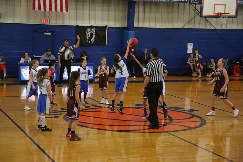 3-4-18 4th Grade Girls Lightning vs. Ridgewood