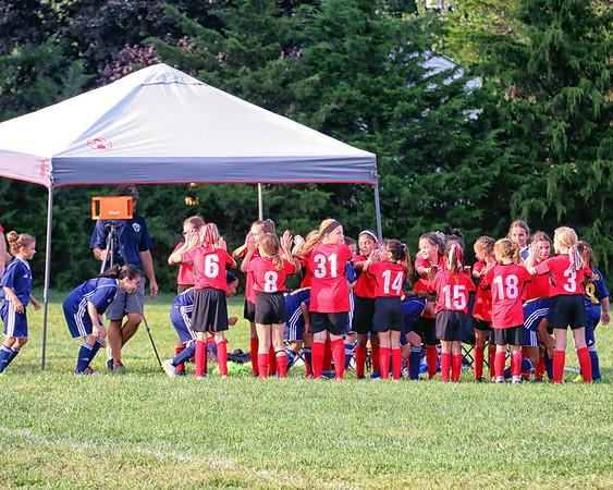 9-16-18 First 10U Leopards Fall Soccer vs. Pequannock - WIN