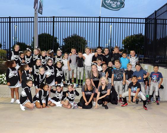8-31-17 Raiders at Metlife Stadium - Jets game