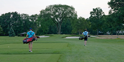 Golf - 8th Tee - Country Club Championship Course