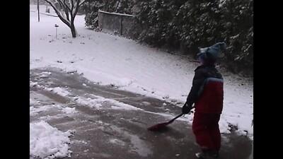 Shovelling the Driveway