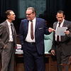 Mark Murphey, Jack Willis and Peter Frechette in  THE GREAT SOCIETY at The Oregon Shakespeare Festival. Photo by Jenny Graham.