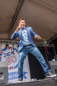 Nathan Moore (Brother Beyond) at Jack up the 80s
